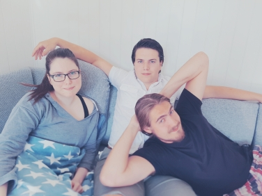 Me, my brother and my boyfriend