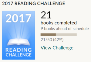 Goodreads Challenge March 2017