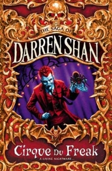 A Living Nightmare (Cirque du Freak #1) by Darren Shan