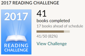 Goodreads Challenge July 2017