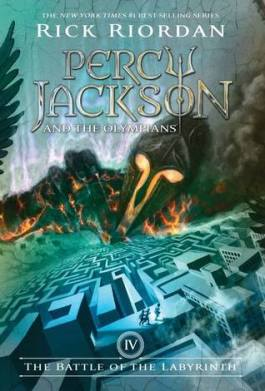 The Battle of the Labyrinth (Percy Jackson and the Olympians #4) by Rick Riordan