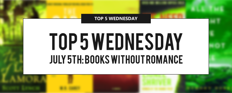 Top 5 Wednesday jULY 5TH